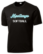 North Oldham Lady Mustangs Moisture wicking T shirt ST 350
