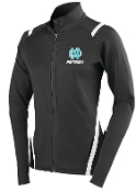 North Oldham Lady Mustangs Augusta Ladies Full zip Jacket 4810