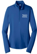 Prospects Basketball Ladies embroidered 1/4 zip LST357