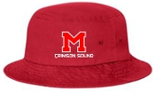 Manual Marching Band RED embroidered bucket hat Sportsman 2050