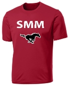 St Margaret Mary Football SMM Red Moisture wick t PC380