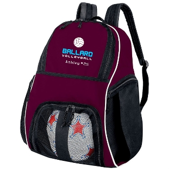 Ballard Volleyball Backpack style 327850