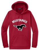 St Margaret Mary Moisture wicking Red Hoodie F244