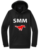 St Margaret Mary Moisture wicking Black Hoodie F244