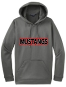 St Margaret Mary Moisture wicking Dark Smoke Gray Hoodie F244