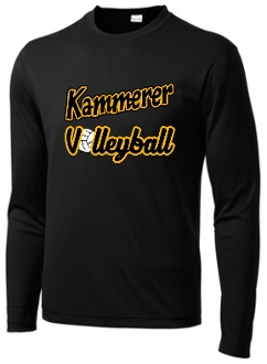 Kammerer Volleyball long sleeve Black ST350LS