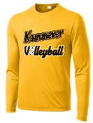 Kammerer Volleyball long sleeve Gold ST350LS