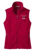 St Margaret Mary Red Volleyball spirit Ladies Fleece Vest L219