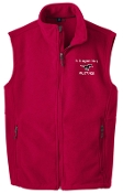 St Margaret Mary spirit Mens/Boys Red Fleece Vest F219/Y219