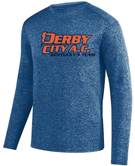 Derby City AC Kinergy Navy Long Sleeve Tshirt Aug 2807
