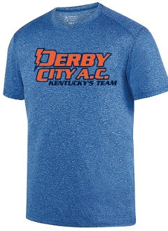 Derby City AC Kinergy Navy Short Sleeve Tshirt Aug 2801