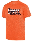 Derby City AC Kinergy Orange Short Sleeve Tshirt Aug 2801