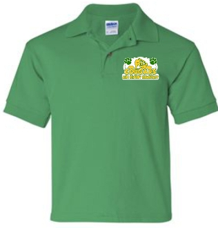 Alex R Kennedy YOUTH Irish Green polo G8800