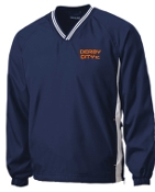 Derby City AC Mens V neck pullover JST62