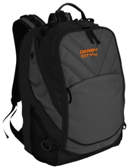 Derby City AC BG100 Backpack with embroidered logo