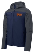 Derby City AC Hooded soft shell Jacket J335