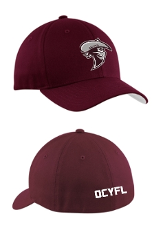 Oldham Co Youth Football maroon hat C813