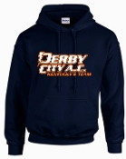 Derby City AC Navy Hooded Sweatshirt G185