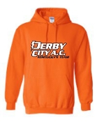 Derby City AC Orange Hooded Sweatshirt G185