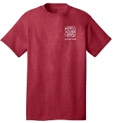 Buechel Fire EMS Support Team Heather Red Tshirt  PC54