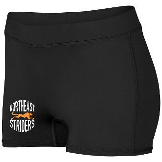 NE Striders Girls Track Shorts Aug 1233