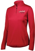 St Margaret Mary Softball Red Ladies 1/4 zip Aug 2787
