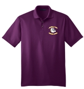 Louisville Male Football K528 Purple embroidered polo
