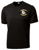 Louisville Male Football Alumni moisture wicking black t ST350