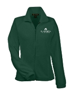 St Martha WOMENS CUT Embroidered Fleece