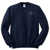 OSLS embroidered navy school sweatshirt 562