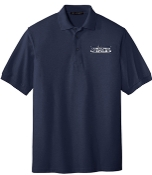 OSLS embroidered navy school polo K500