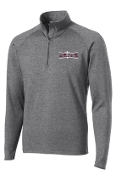 OSLS Mens 1/2 zip embroidered stretch pullover ST850