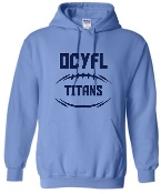 OCYFL Titans Hooded sweatshirt G185