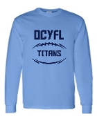 OCYFL Titans Long Sleeve T shirt G540