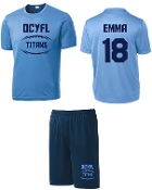 OCYFL Titans Player pack shirt and shorts ST 350/355