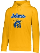 JCTMS Adult Wicking Fleece Hooded Sweatshirt Augusta 5505