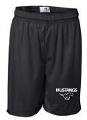 SMMSS Badger 7 inch Black pocketed shorts 2195