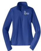 Milestone Wellness Fitness Specialist Ladies 1/2 zip  LST850