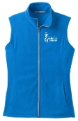Milestone Wellness Fitness Specialist Ladies full zip Vest L226