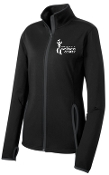Milestone Wellness Ladies full zip  pullover LST853