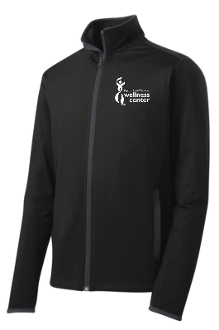 Milestone Wellness Mens full zip  pullover ST853