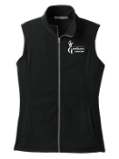 Milestone Wellness Ladies full zip Fleece Vest L226