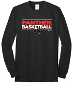 Heart For Christ Basketball Long Sleeve T shirt PC55LS