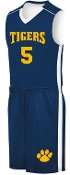 SME Basketball uniform complete with jersey and shorts