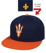 Sun Devils Baseball Navy/Orange TGS1930X hat