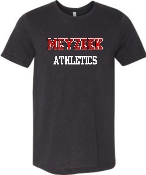 Meyzeek Athletics TriBlend T shirt 3413