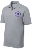 Louisville Male Alumni 50 Yr Club ST640 Silver embroidered polo
