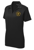 Louisville Male Alumni LADIES LST640 Black polo