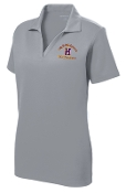 Louisville Male Alumni Hall of Fame LADIES LST640 Silver polo