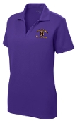 Louisville Male Alumni Hall of Fame LADIES LST640 Purple polo